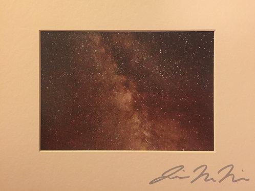 M8x10-5259 Stars Milky Way Badlands