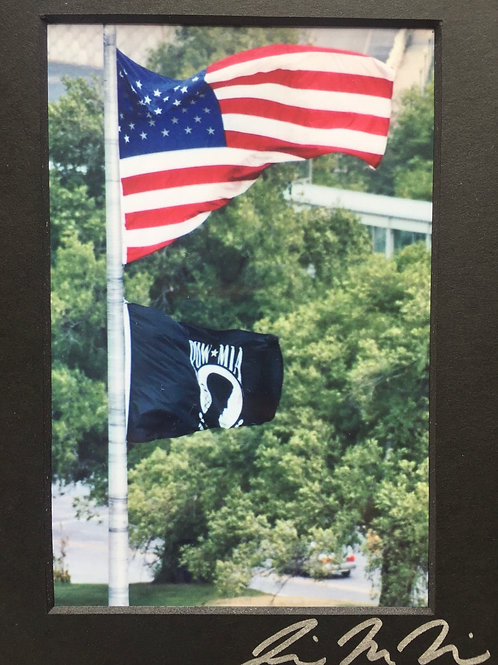 M5x7-Scan37 POW MIA Flag KS