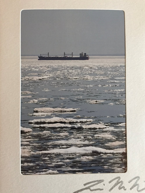 C-1139 Duluth Icy Water Boat