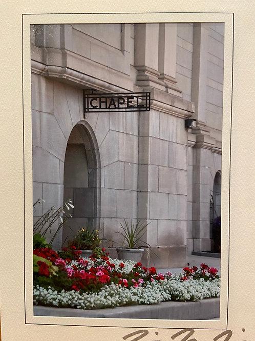 C-0520 Chapel Door Saint Agnes