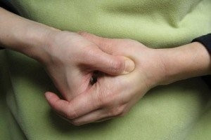 self massage for anxiety and improved sleep, the hand valley pressure point