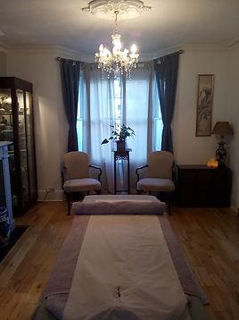 mummy massage therapy room kingston