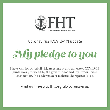 massage therapist coronavirus pledge