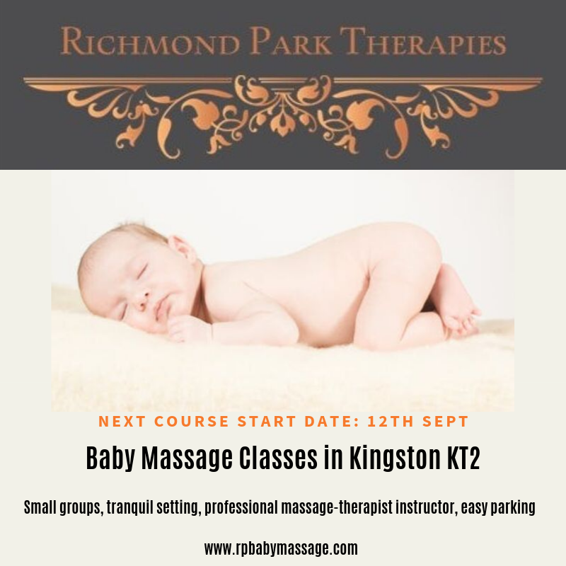Why we offer the best baby massage classes in Kingston