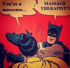 massage therapist versus masseuse