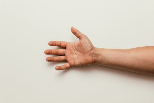 Self massage for arm and hand muscles
