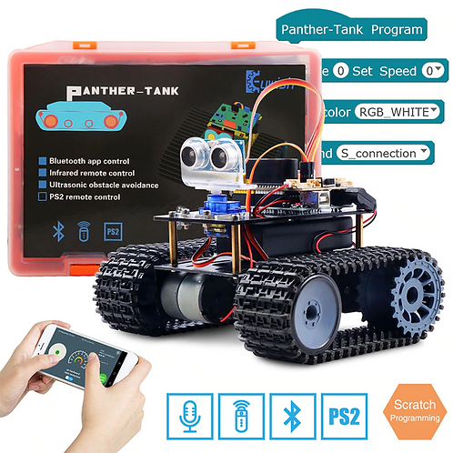 Keywish Tank Robot for Arduino