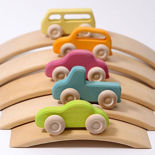 Car Bridge Wooden Set