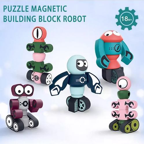 Robot Magnet Set