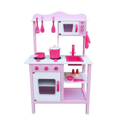 Pink Kitchen Play Set