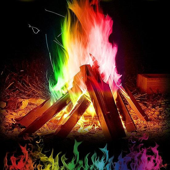 Colorful Flames Powder