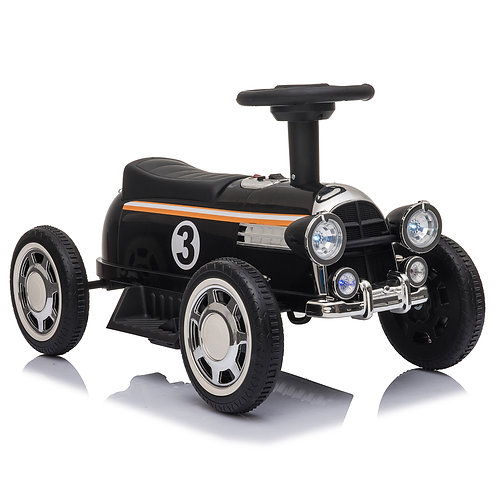 Kids Electric Ride On Car With Music Player   LED Lights 6V Black
