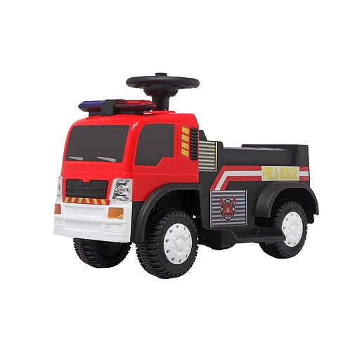 Fire Truck w/ Music & Push Handle
