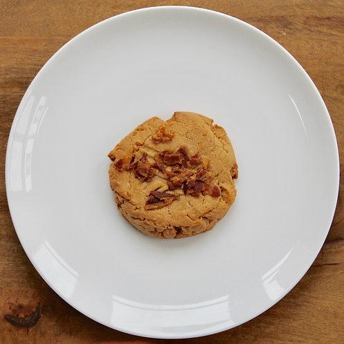 Jumbo Peanut Butter Bacon Cookie