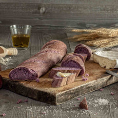 Kristof - baguette with ube