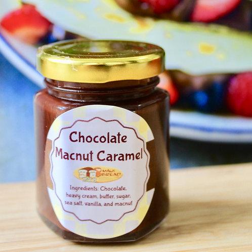 Chocolate Macnut Caramel