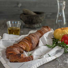 Jonathan - baguette with tomato & curry