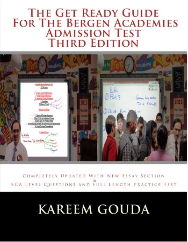 The Get Ready Guidefor The Bergen Academies Admission Test