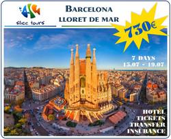 Barcelona+Lloret de Mar