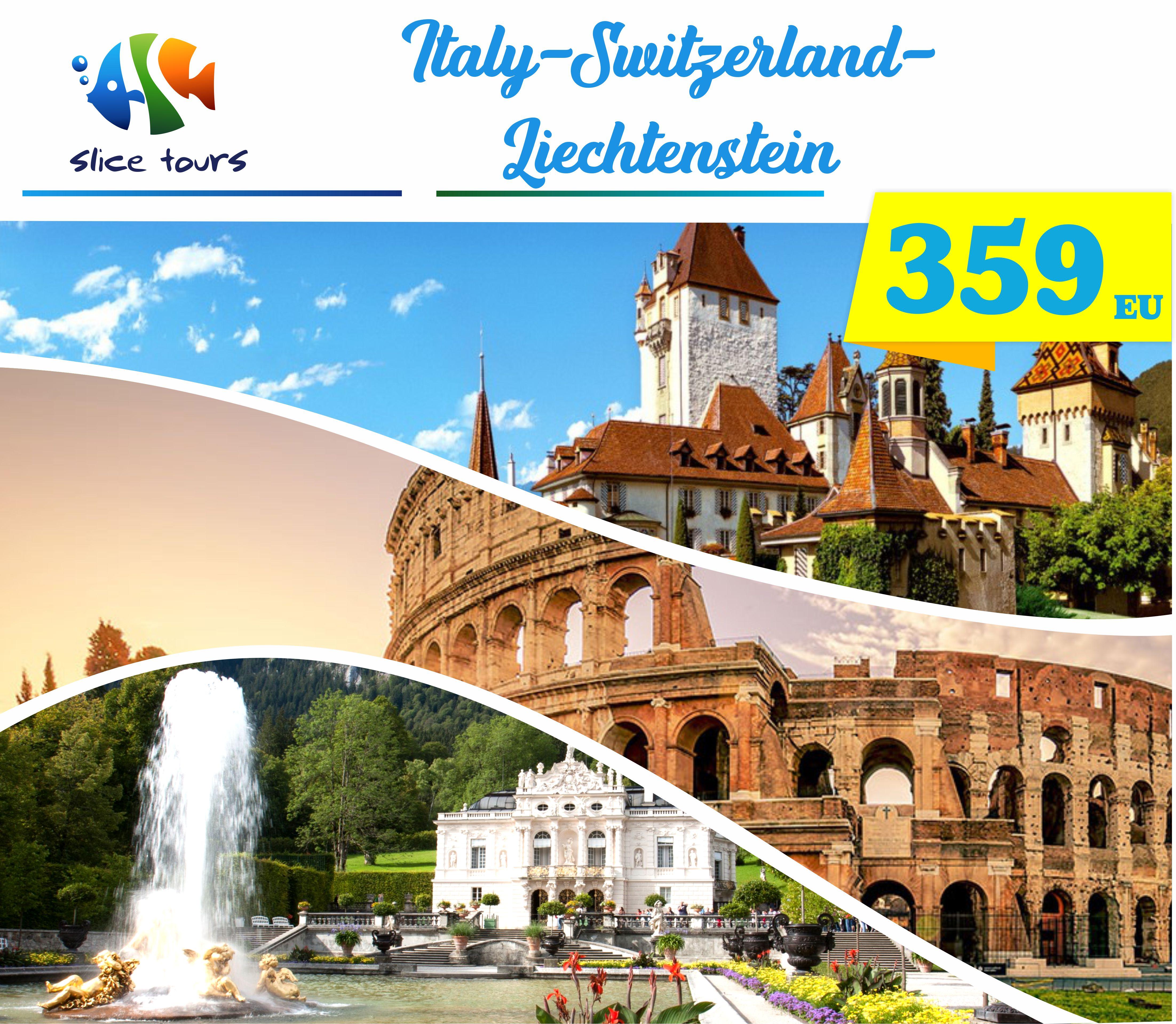 Italy Switzerland Liechtesnstein