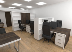 open space office planning