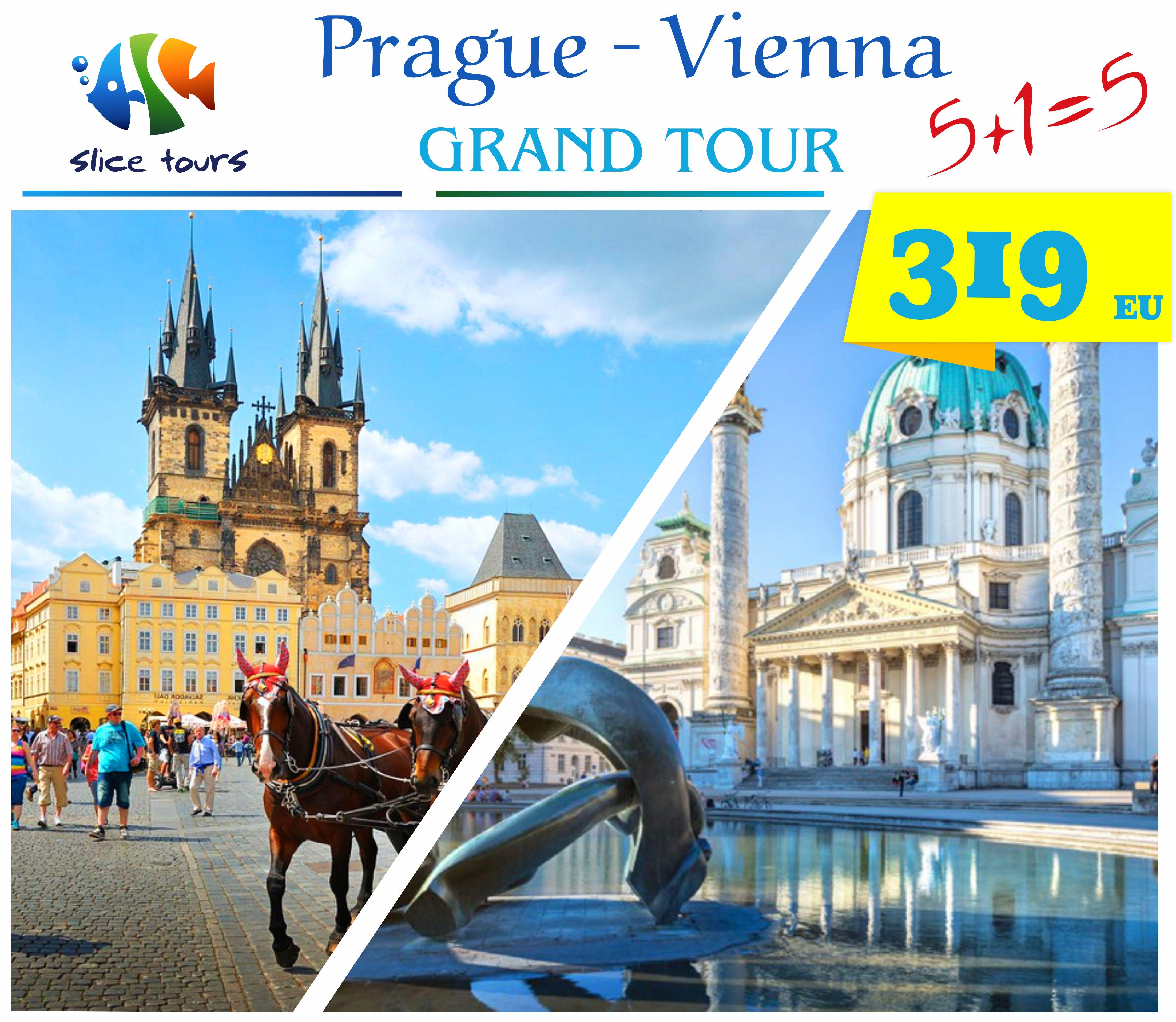 Vienna + Prague