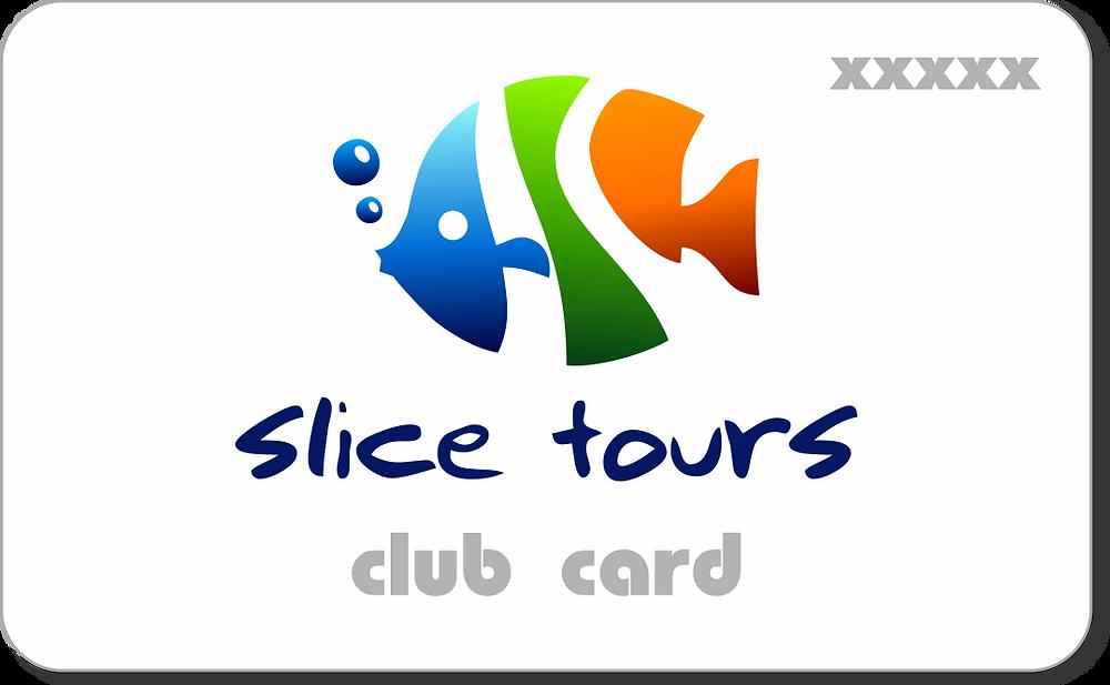 Slice Tours Club Card заполни форму и получи бесплатно!