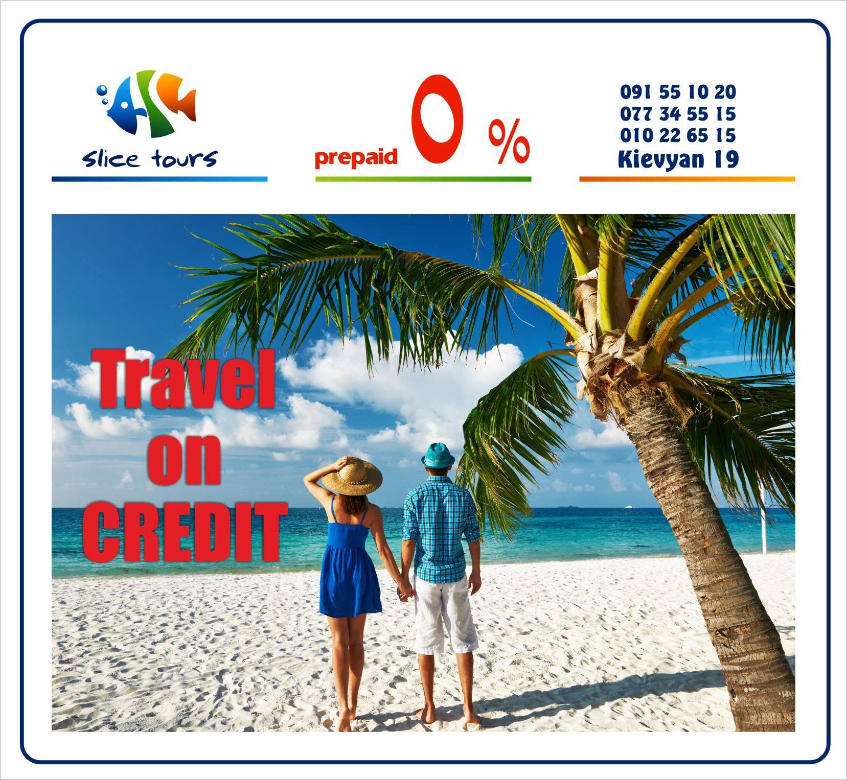 Travel on credit