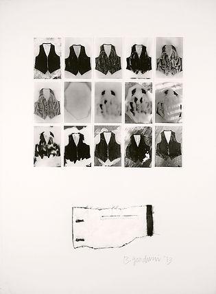 veston ; vetement ; neige ; fonte ; presence ; absence ; nos corps ont leurs raisons ; 2021 ; collection oeuvres d'art UdeM