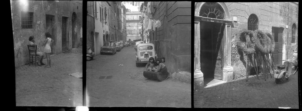 Trastevere, 1969/1970, imprimé 2015, 22 x 60cm, Épreuve au jet d'encre   sur papier Hahnemühle.