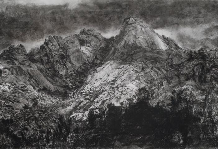 Portrait (Sierra de Guadarrama), 2014, 92 x 132cm, conté sur Mylar.