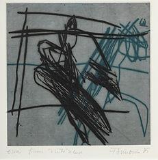 abstraction ; estampe ; gravure ; nos corps ont leurs raisons ; 2021 ; collection oeuvres d'art UdeM