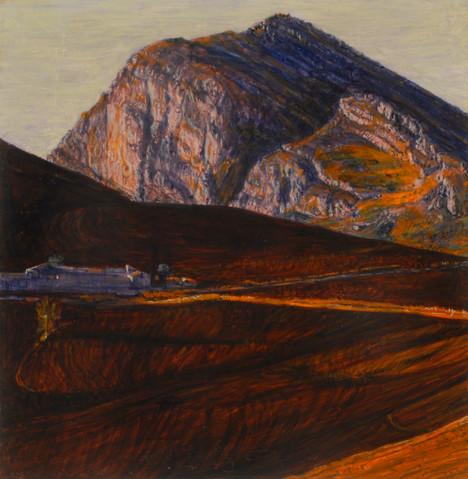 Sierra Portraits (Caltavuturo), 2019, 31 x 31cm, secco.