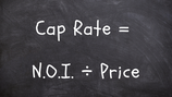 What's your cap rate?