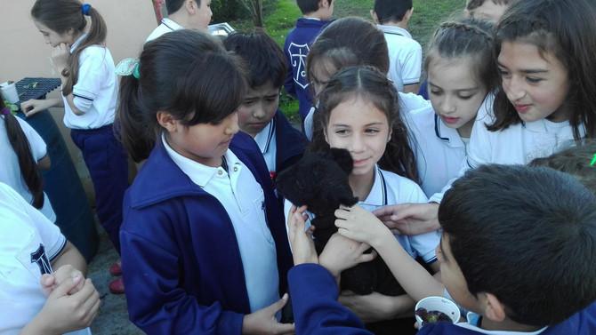 Nos visitaron los alumnos del Instituto José C. Paz