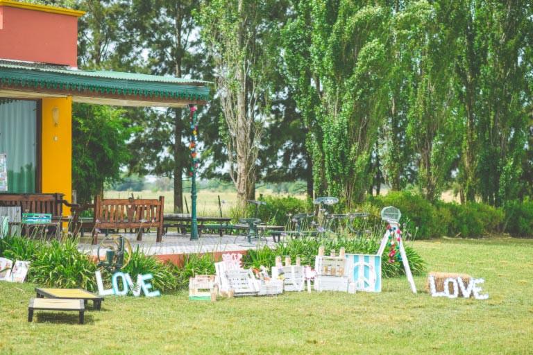 Casamiento Estancia Girasoles de San Gará