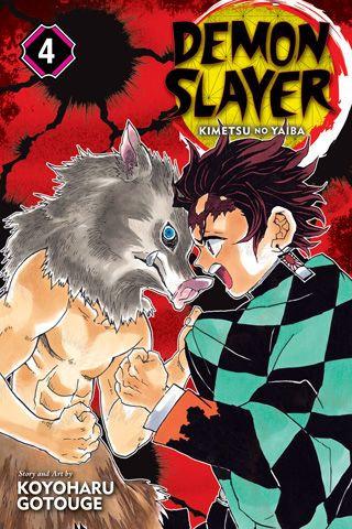 Demon Slayer: Kimetsu no Yaiba, Vol.4