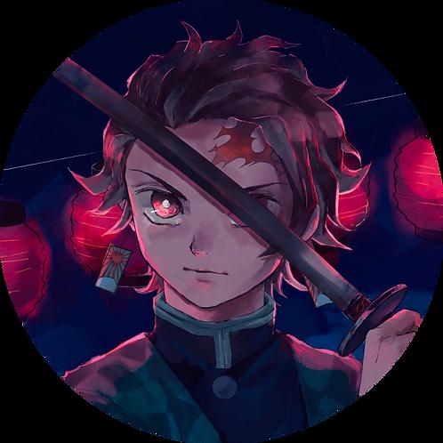 Tanjirou Badge