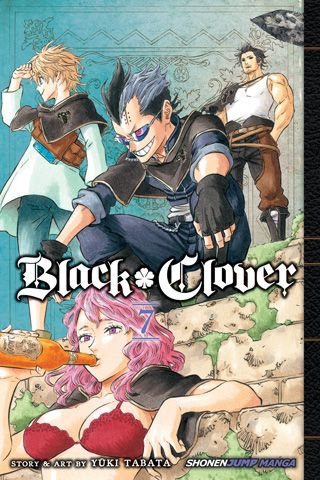 BLACK CLOVER VOL 8