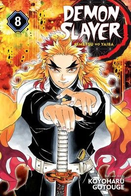 Demon Slayer: Kimetsu no Yaiba, Vol.8