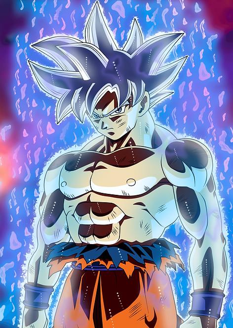Goku Ultra Instant Poster