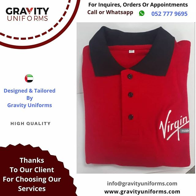 Virgin Polo Shirts