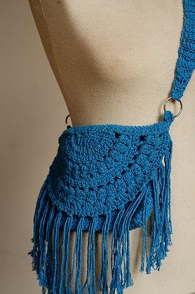 Bolsa Franjas Crochet