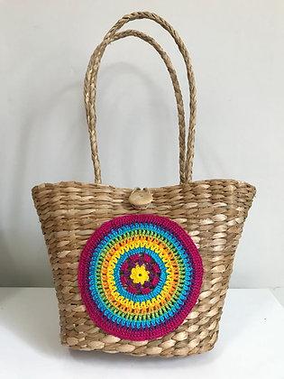 Bolsa de palha de Taboa - Mandala