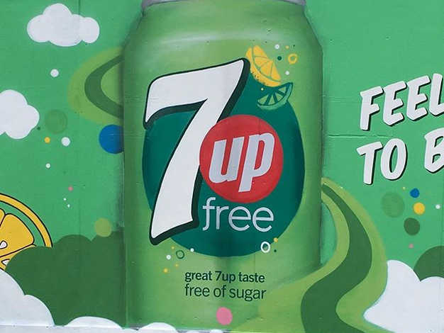 7Up Mural