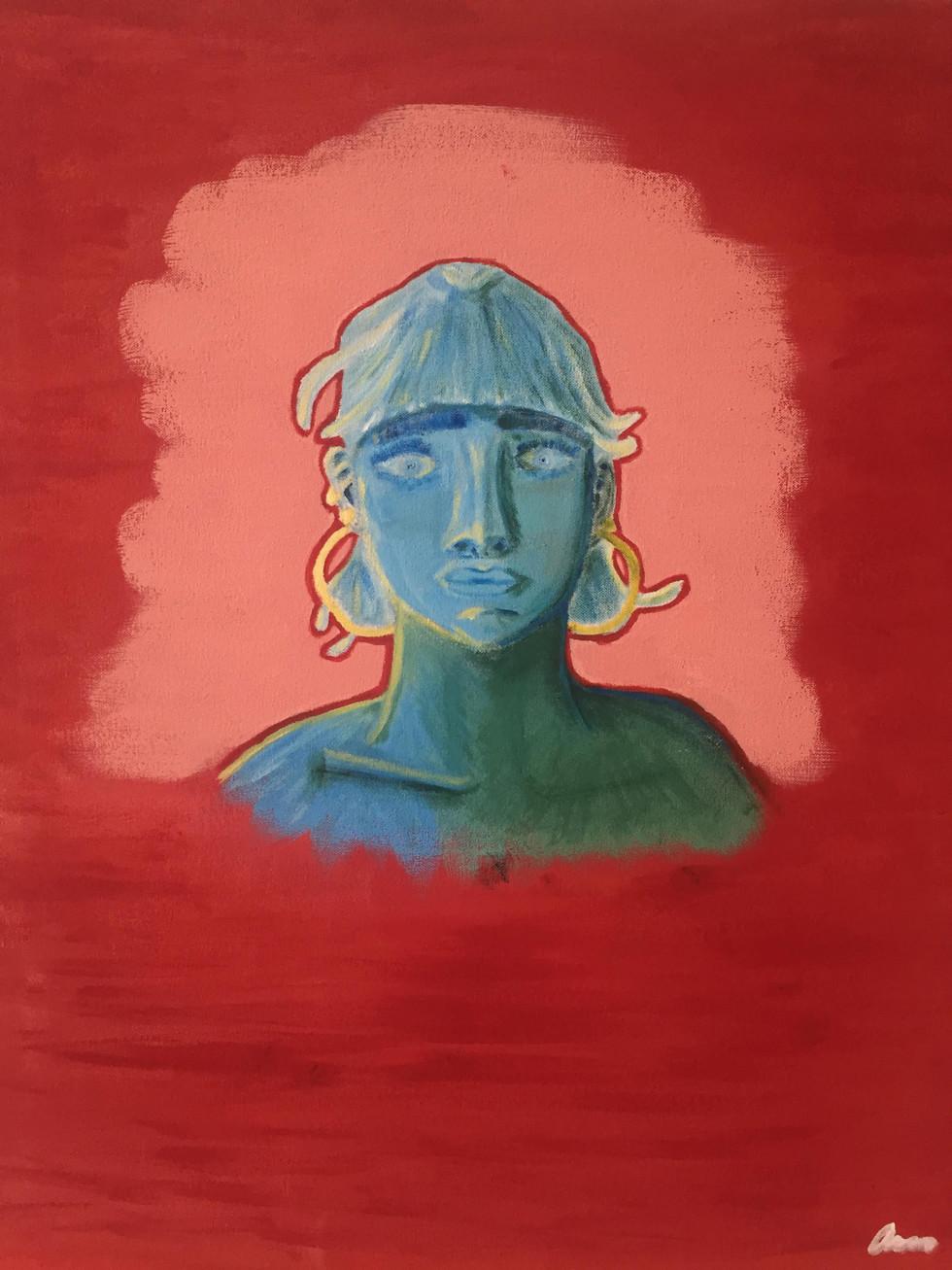 Self Portrait in Paint (2019)