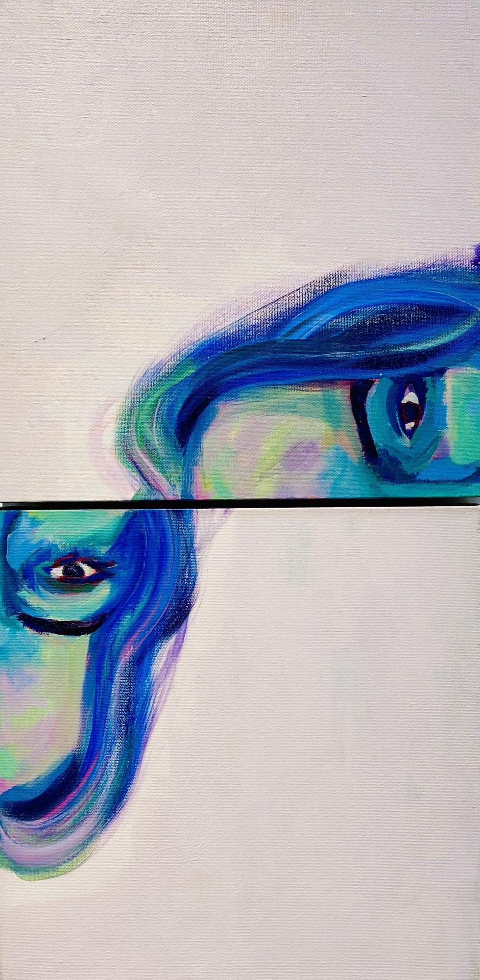 Untitled Self Portrait (2020)