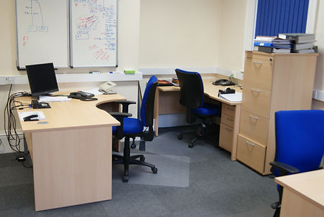 A Typical Office in Dunston House.