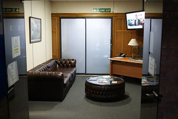 Office Reception at Dunston House Chesterfield