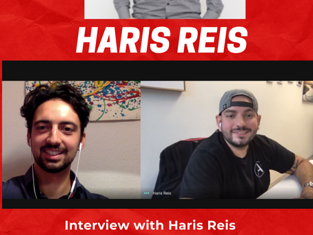 How to create a bigger impact as an entrepreneur? Interview with Haris Reis